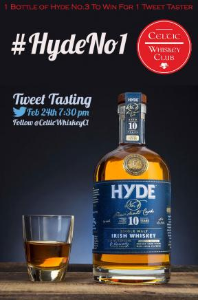 Next Tasting: it's all about Hyde Whiskey!