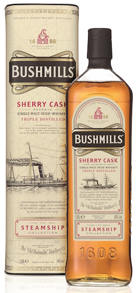 Bushmills Steam Ship Collection Sherry Cask Reserve