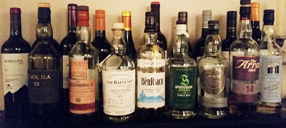 Burns Night Tasting